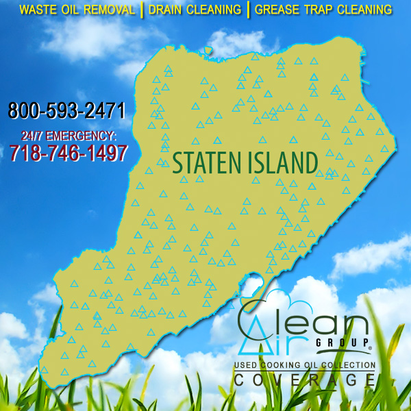 Staten Island Used Cooking Oil Collection